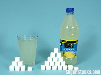Lemonade sugar stack